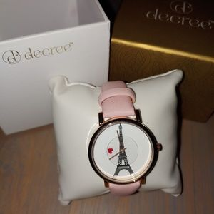 Decree Accessories - Decree Paris Love watch New in Box!